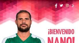 Nano, nuevo jugador del Almería. UDAlmería