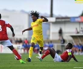 Nantes s'est incliné 2-0. Twitter/FC Nantes