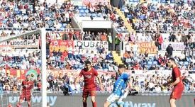 Napoli goleia a Roma fora de casa. Twitter @sscnapoli