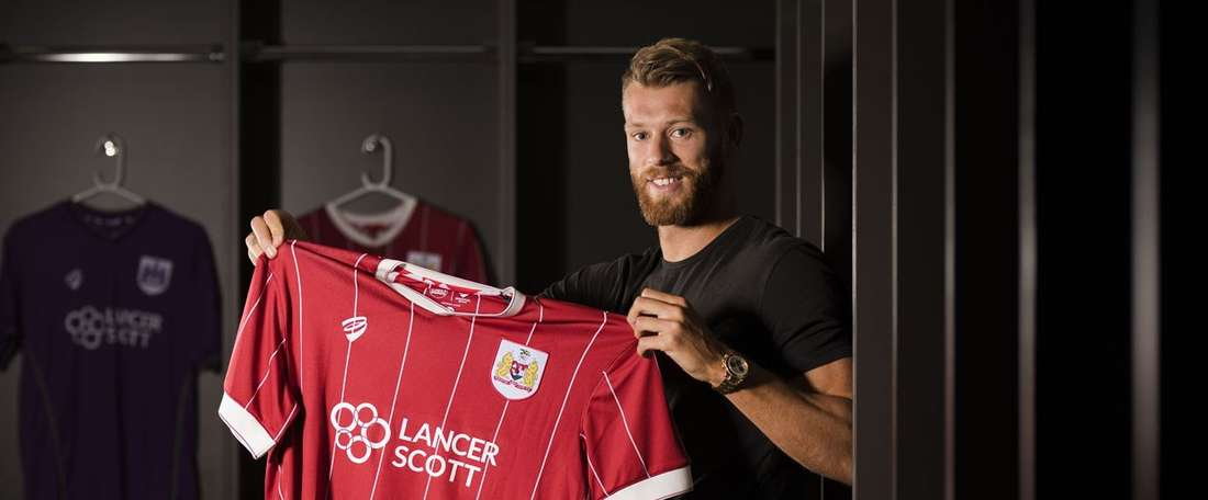 Nathan Baker has signed for Bristol City. BCFC
