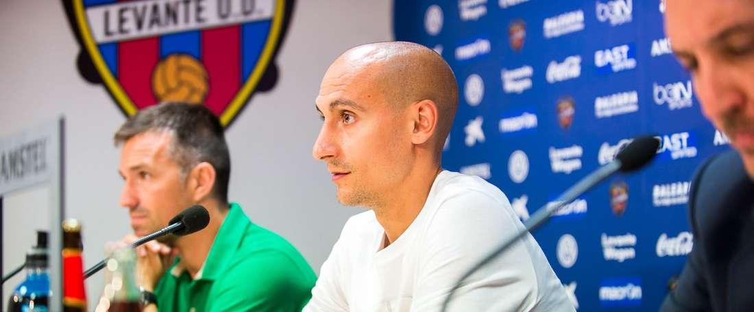 Natxo Insa, en su etapa como jugador del Levante. EFE