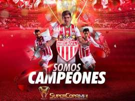 Necaxa, campeón de la Supercopa Mx. EFE