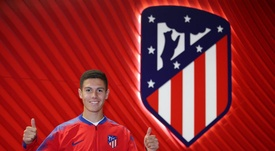Nehuén ha firmado un Sudamericano impecable. Twitter/Atleti