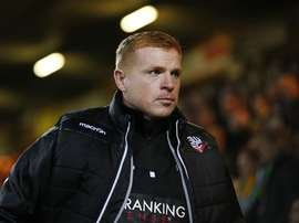 Neil Lennon pictured as Bolton manager. BWFC.co.uk