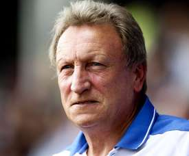 Neil Warnock is the boss at Cardiff. AFP