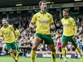 O internacional luso tem estado em grande forma nos 'canaries'. Twitter/NorwichCityFC
