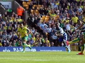 Avançado internacional português atingiu um máximo de carreira na goleada do Norwich. Norwich City