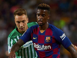 Nelson Semedo is one of those who could be sold by Barca. EFE