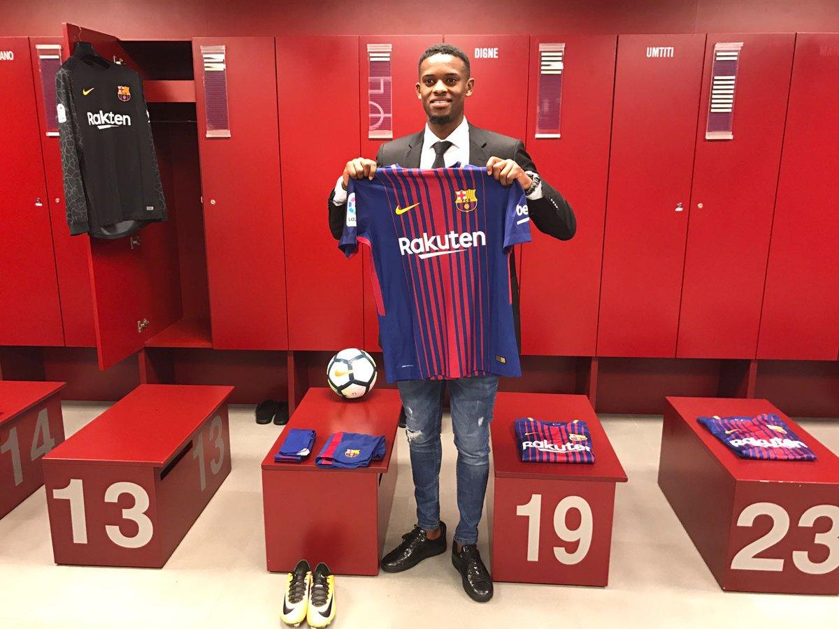 Camiseta FC Barcelona N. Semedo
