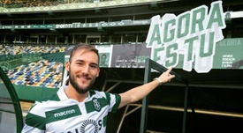 Nemanja Gudelj gusta al Betis. Twitter/Sporting