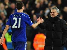 Matic pode não ir ao Tottenham. AFP/EFE