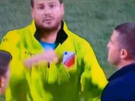 ¡El entrenador de la Vojvodina amenazó de muerte a un aficionado del Radnicki! Captura/SerbianFooty