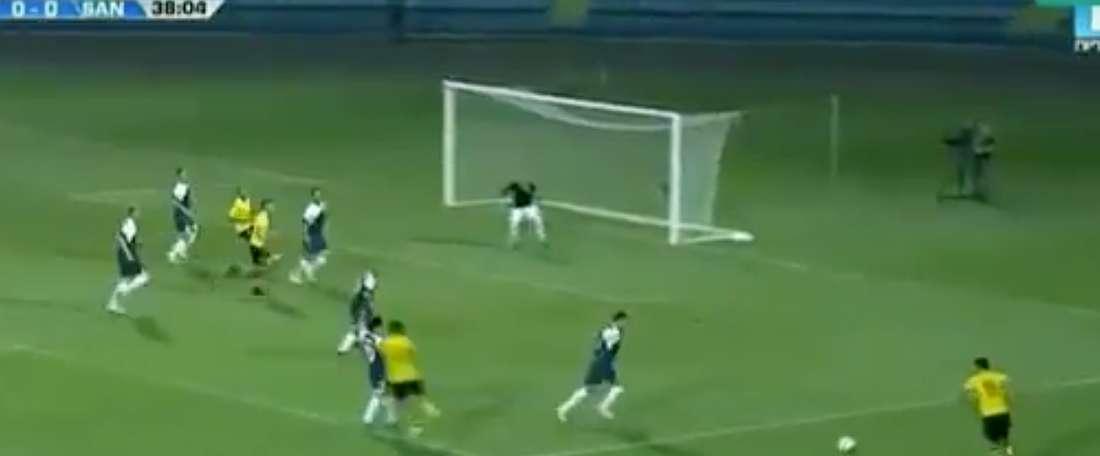 El Alashkert marcó el primer gol de la temporada en la Champions. Twitter