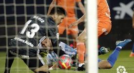 El Málaga venció en La Rosaleda por primera vez en este curso. LaLiga