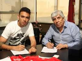 Nery Domínguez firmó su contrato con Independiente. Independiente