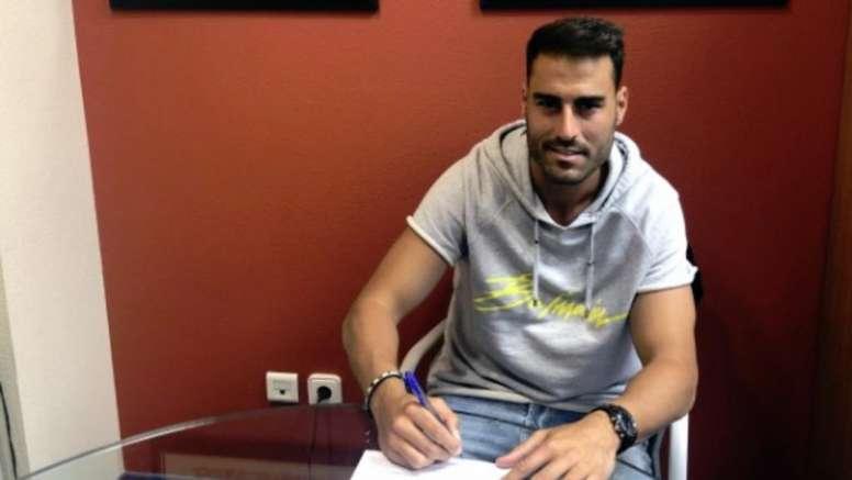 Albiach firmó para la siguientes dos temporadas. CDNumancia