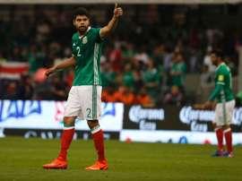 Nestor Araujo scored Mexico's first. SomosInvictos/Twitter