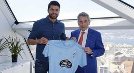 Néstor Araujo, nouveau joueur du Celta Vigo. Twitter/RCCelta