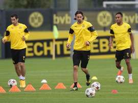 Arsenal are interested in making a move for Borussia Dortmund defender Neven Subotic (C). Twitter
