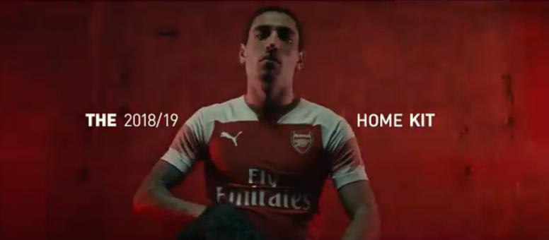 911e1547367 Pin Arsenal unveiled their new home kit for next season.  Screenshot TwitterArsenal