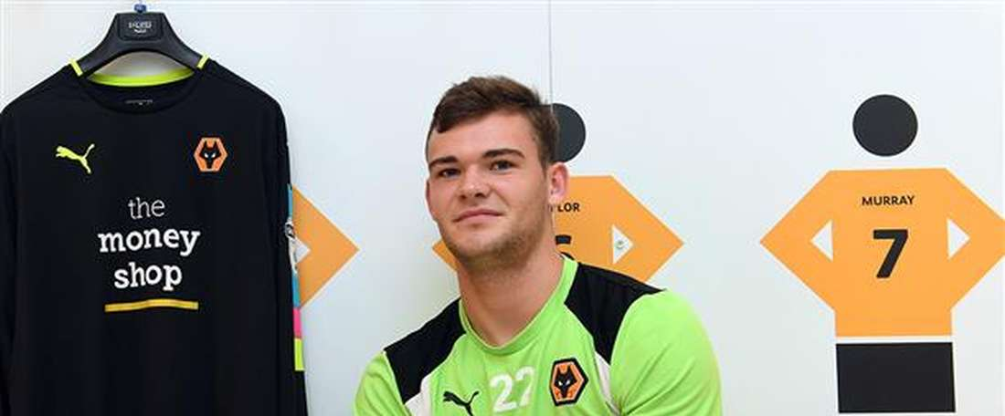 New Wolves signing Jack Ruddy. Wolves