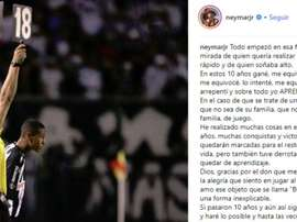 Dix ans depuis les débuts de Neymar. Neymar