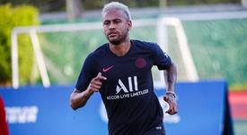 Il presidente del Barcellona commenta i rumors su Neymar. Twitter/PSG_Inside