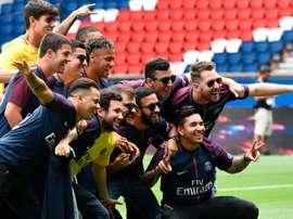 La quantité exorbitante que gagnent les Toiss pour être les amis de Neymar. AFP/Philippe Lopez