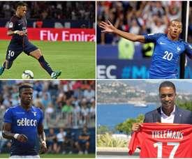Neymar, Mbappé, Keita y Tielemans son los cuatro fichajes más caros de la Ligue 1. BeSoccer