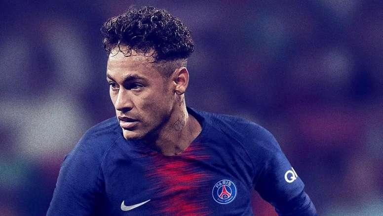 Le futur de Neymar est dans l'air. Twitter/Neymarjr