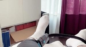 Neymar já está em Paris tratando sua lesão. Captura/Instagram/NeymarJr