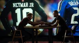Neymar avait scellé un accord avec Beckham. Capture/OTRO
