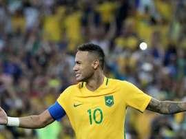 Neymar no se mordió la lengua... EFE