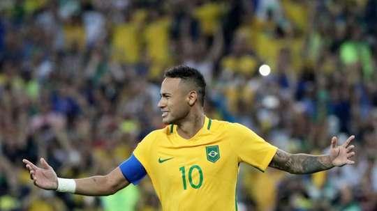 Neymar n'a pas gardé sa langue dans sa poche... EFE