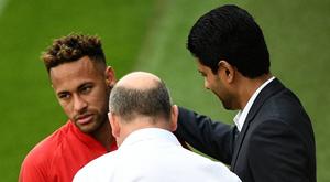 PSG pediria 300 milhões por Neymar. AFP