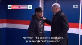Neymar de retour. J+1