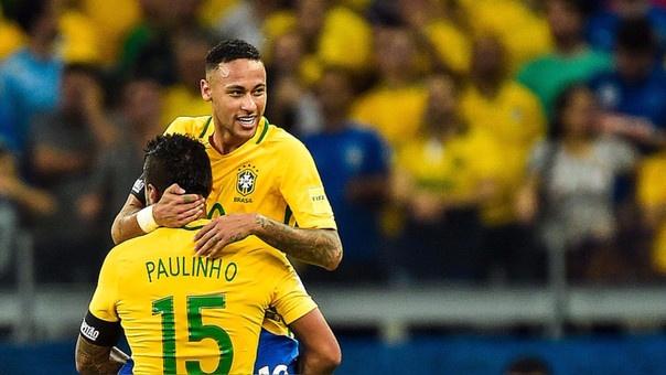 Neymaré o grande nome do Brasil na Copa. AFP