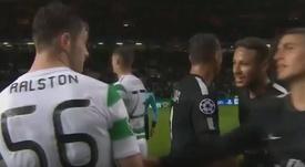 Ralston já reagiu ao 'incidente' com Neymar. Captura