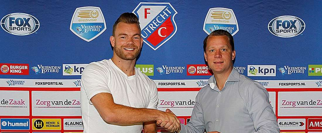 Marsman ya es jugador del Utrecht. FCUtrecht