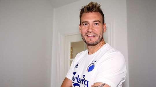 Nicklas Bendtner affole déjà les supporters. FCK.DK