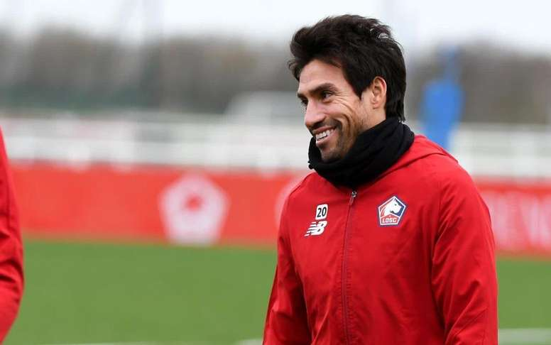 Nico Gaitan attendu lundi à Braga. LOSCLille