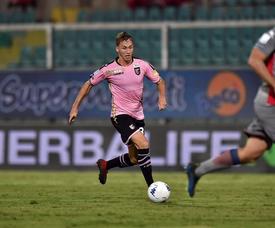 El Palermo sufrió para poder puntuar. Twitter/Palermocalcioit