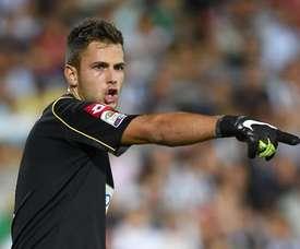 Nicola Leali, jugador de la Juventus, cedido al Frosinone. Twitter