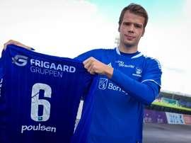Poulsen llega en calidad de cedido al conjunto noruego. Sarpsborg 08