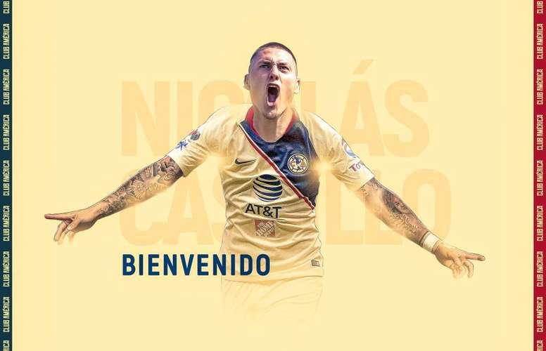 Castillo vuelve a México. Twitter/America