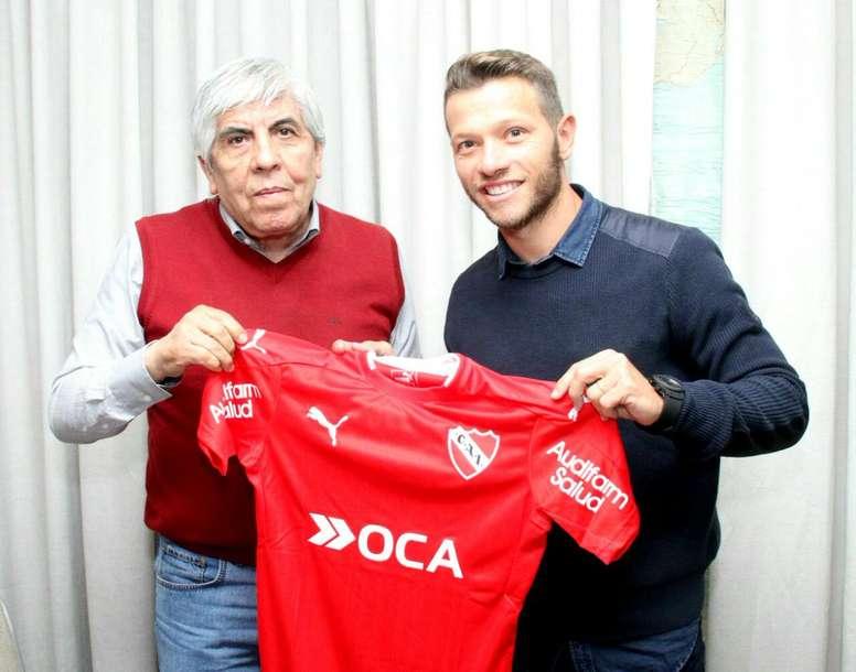 Independiente se hace con los servicios de Nicolás Domingo. CAIndependiente