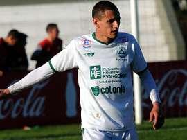 Nicolás Dibble jugará por primera vez en un equipo que no sea el Plaza Colonia. TenField