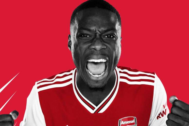 Nicolas Pepe has signed for Arsenal. Twitter/Arsenal
