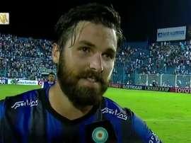 Romat disputó 15 partidos el pasado Torneo Transición en Atlético Tucumán. VarskySports