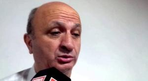 El presidente de Lanús crítica a los árbitros. Captura